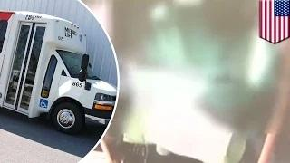 Public bus s*x: Houston bus driver caught covering camera while having $ex with passenger