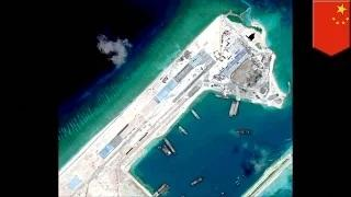 South China Sea disputes: China is building a massive airstrip on Fiery Cross Reef