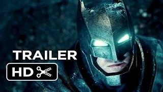 Batman v Superman: Dawn of Justice Official Teaser Trailer #1 (2016) - Ben Affleck Movie HD
