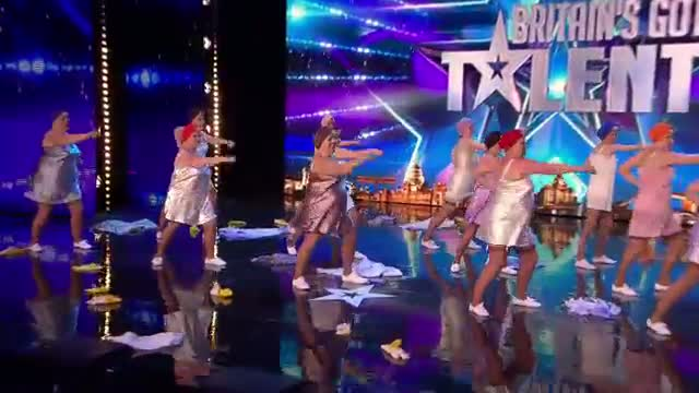 Britain's Got Talent 2015 - The Ruby Reds want to get something off their chests | Audition Week 1