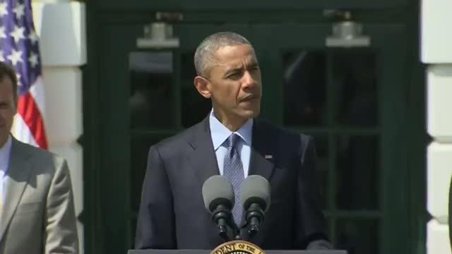 Obama Honors NASCAR Champ at White House