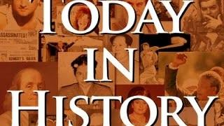 Today in History for April 22nd Video