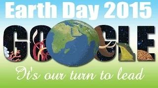 Earth Day 2015 Google Doodle