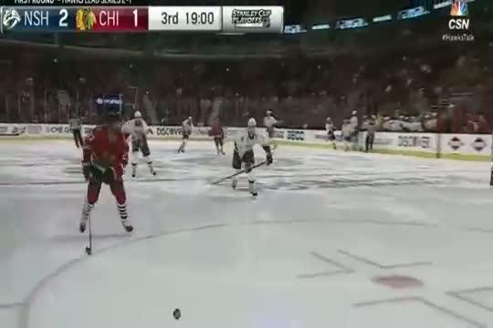 Nashville Predators vs Chicago Blackhawks 2-3 ( NHL - Stanley Cup Play-off April 21,2015)