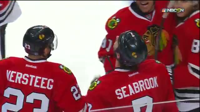 Blackhawks Brent Seabrook Triple Overtime Game-Winner - Game 4 (April 21 and April 22)
