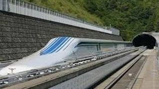 Japan's Maglev Train sets a new World Record!