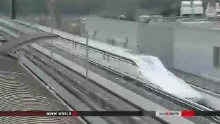 Japan's maglev train sets world record: 603 kph - World's Fastest Train Records Speed of 603 kph