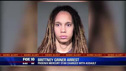Brittney Griner Arrested For Fighting Her Fiancee