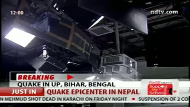 Massive 7.4 Magnitude Earthquake in Nepal, Tremors Felt Across Northern India
