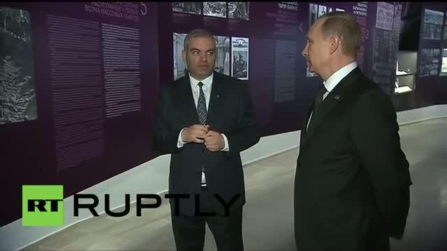 Armenia: Putin visits 'Armenian Genocide Museum' on 100th anniversary of 1915 events