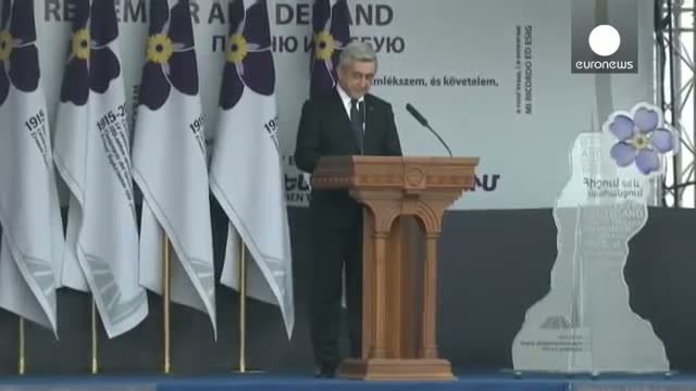 """Armenian President: """"The 100th anniversary of the Armenian genocide is """"a new starting point"""""""