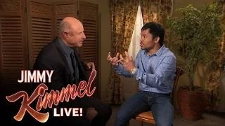 Dr. Phil Counsels Manny Pacquiao