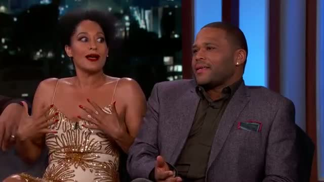 Anthony Anderson Accused Tracee Ellis Ross of Farting on Stage