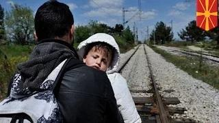 Refugees hit by train: Mostly from Afghanistan and Somalia, killed by train in Macedonia