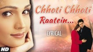 Chhoti Chhoti Raatein Full Song with Lyrics - Tum Bin | Priyanshu Chatterjee, Sandali, Himanshu