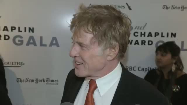 Robert Redford Honored at Lincoln Center