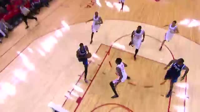 NBA: Al-Farouq Aminu Gets Loose and Throws Down the Jam