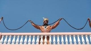 The Man With The World's Longest Moustache - Amazing India