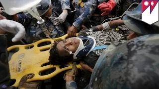 Nepal earthquake 2015: Buried alive for five days, teen finally rescued from rubble