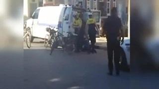 Freddie Gray Transport Van Made 4th Stop - VIDEO