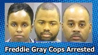 3 of the 6 Cops Charged in Freddie Gray's Death are Black