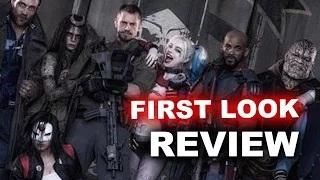 Suicide Squad 2016 FIRST LOOK & Review - Harley Quinn, Deadshot, Katana
