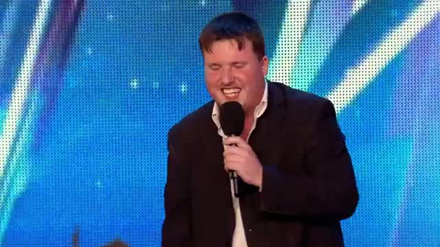 Could David be singer-songwriter Paul's newest celebrity fan? | Britain's Got Talent 2015