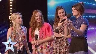 Will Misstasia impress the Judges with their princess magic? | Britain's Got Talent 2015