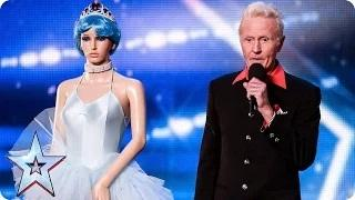 Will George Vernon and Odetta get to sing for the Queen? | Britain's Got Talent 2015