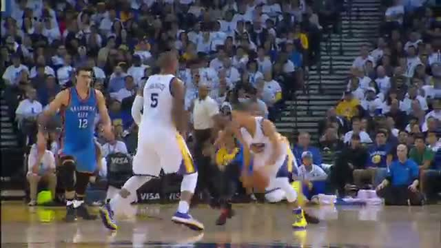 NBA: Stephen Curry Shows Off His Ridiculous Handles in 2014-2015