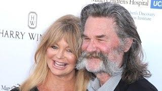 Goldie Hawn and Kurt Russell Head over Heels on Red Carpet