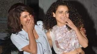 Priyanka Chopra & Kangana Ranaut celebrate NATIONAL AWARD with a PARTY