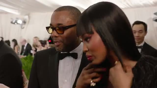 Naomi Campbell and Lee Daniels at the Met Gala 2015 | China: Through the Looking Glass