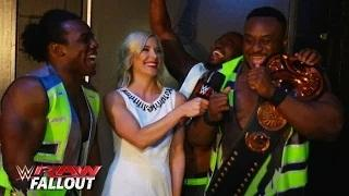 The New Day celebrates their victory: WWE Raw Fallout, May 4, 2015