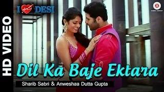 Dil Ka Baje Ektara Song - I Love Desi (2015) - Vedant Bali & Priyanka Shah | Sharib Sabri & Anweshaa Dutta Gupta