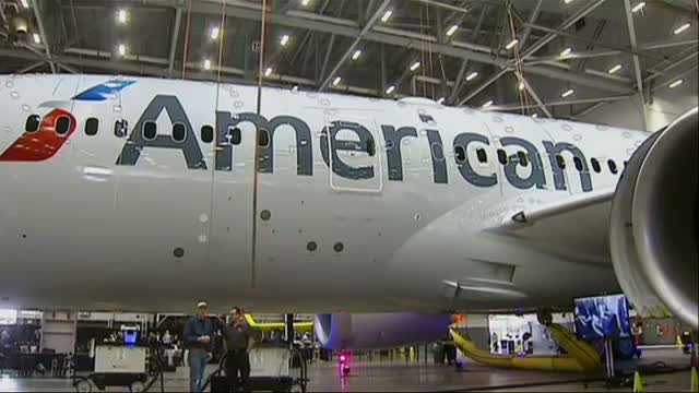 American Becomes 2nd US Airline to Fly 787 - Video