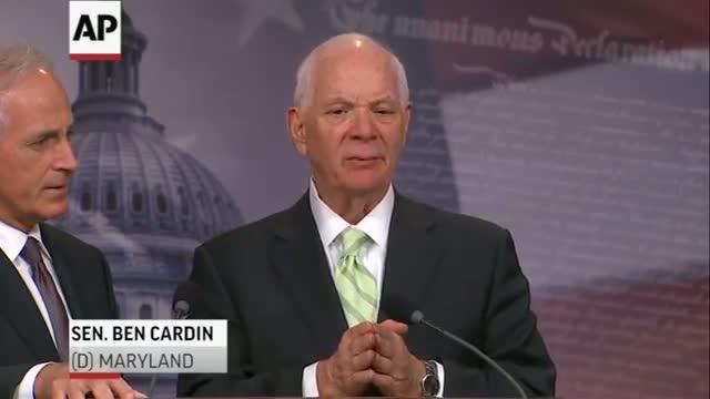 Senate OKs Bill Giving Congress Weigh-In on Iran