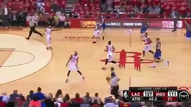 Austin Rivers Huge Turnover | Clippers vs Rockets | Game 2 | May 6, 2015 - 2015 NBA Playoffs