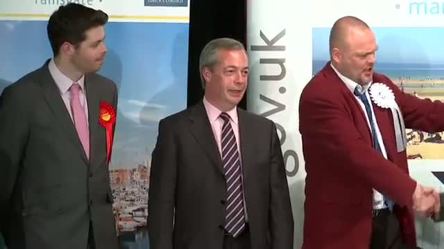 Nigel Farage fails to win in South Thanet