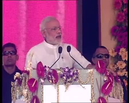 PM Modi unveils modern unit of IISCO plant Burnpur (speech)