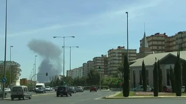 Military Plane Crash in Spain