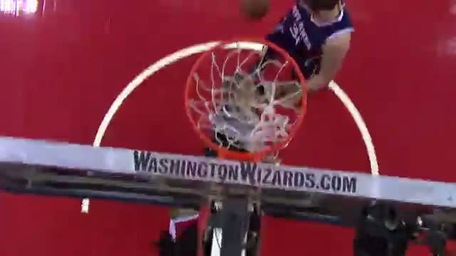 NBA: Nene Finishes Big with Huge Slam on Horford