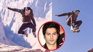 Varun Dhawan FALLS While Shoot