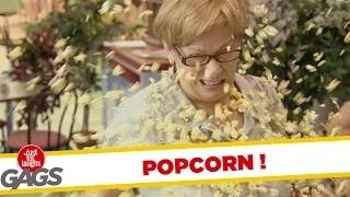 Best of Just For Laughs Gags - Popcorn Pranks!