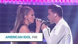 Prince Royce with Jennifer Lopez and Pitbull, 'Back it Up' - AMERICAN IDOL XIV