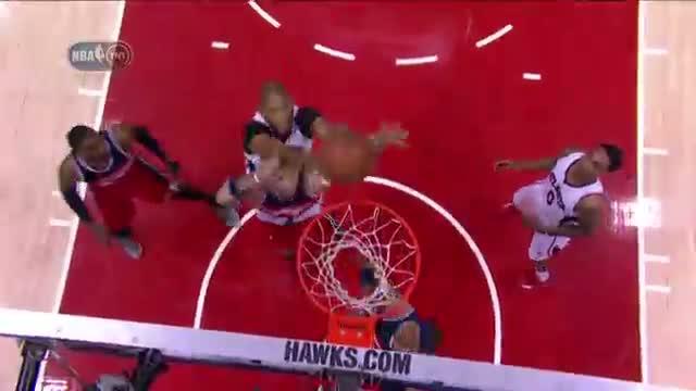 NBA: Al Horford Soars Over Wizards for Huge Putback Jam