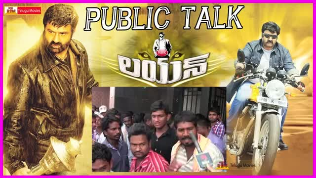 Balakrishna Lion Movie Public Talk / Review / Response - Lion Review - Trisha , Radhika Apte