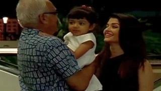 Aishwarya Rai Bachchan leaves for Cannes 2015 with daughter Aaradhya Bachchan