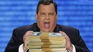 Chris Christie eats $300,000 of food: New Jersey governor's appetite for presidency