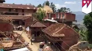 Nepal earthquake: giant aftershock rocks the region